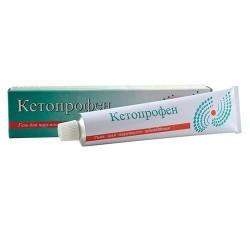 Кетопрофен-Тева, гель д/наружн. прим. 2.5% 30 г №1